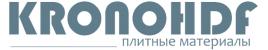ХДФ плита ЛХДФ HDF Кроношпан